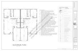 4 Plex House Plans by Condo Blueprints Sds Plans