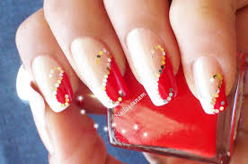 red nails youtube