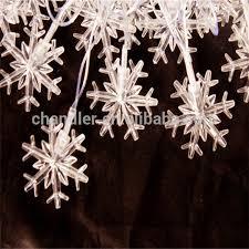 Snowflake Lights Outdoor Led String Lights Outdoor Decoration 50m 400led Snowflake String