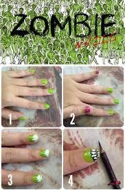 easy u0026 unique to do halloween nail art tutorial fashionends com