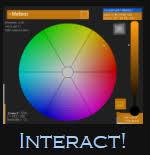 interactive color wheel