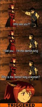 Demon Memes - miss demon king trigger know your meme