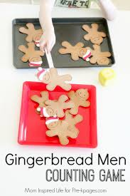gingerbread man counting game gingerbread games counting games