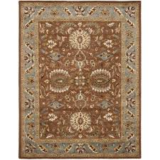 blue and brown area rugs ba rugs bright rug heritage e35 47