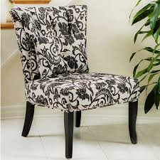 Black And White Accent Chair Beautiful Black And White Accent Chair Powell Diana Arm Throughout