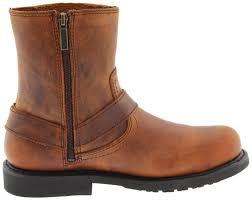 mens brown motorcycle boots harley davidson men u0027s scout brown harness motorcycle boots