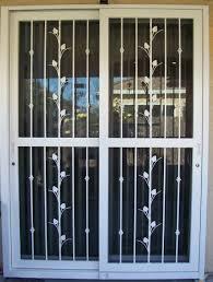 Patio Screen Door Security Screen Door For Sliding Door Security Door Ideas