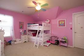 Traditional Kids Bedroom With Ceiling Fan  Specialty Door In - Fan for kids room