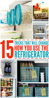how to make your fridge look like a cabinet 15 tricks that will change the way you use your fridge