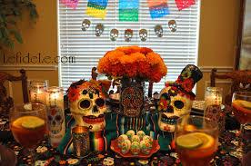 dia de los muertos decorations dia de los muertos day of the dead themed dinner party
