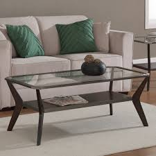 espresso beveled glass coffee table slate coffee tables round table thippo
