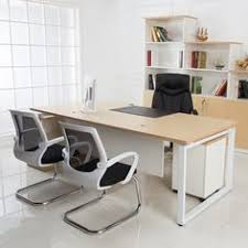 Modern Desks For Sale Factory Wholesale Price Luxury Standard Office Desk Dimensions