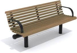 garden bench public contemporary wooden havana by josep image with