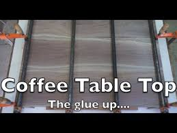 table top glue up quick but important glue up coffee table top youtube