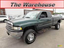 Dodge Ram 99 - 1999 emerald green pearl dodge ram 2500 slt extended cab 4x4