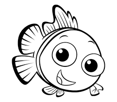 coloring fish coloring sheets