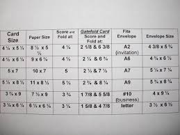 8 best card envelope size charts images on envelope