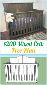 the 25 best wood crib ideas on pinterest baby cribs cribs and