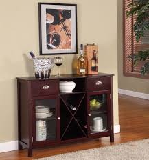 amazon com king u0027s brand wr1241 wood wine rack console sideboard