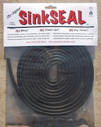 Sealant For Kitchen Sink Sinkseal Kitchen Sink Gasket U Channel