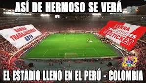 Memes De Peru Vs Colombia - per禳 vs colombia los divertidos memes de partido final de la