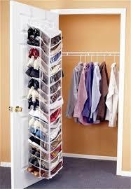 Closet Door Shoe Storage Amazing Shoes Away Hanging Door Shoe Organizer Storage Shelf