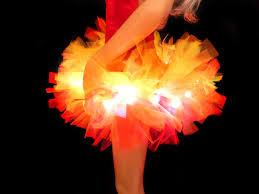 girls light up fire tutu u2013 tutu factory uk