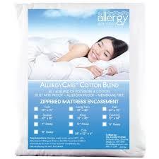 Dust Mite Crib Mattress Cover Allersoft Cotton Blend Mattress Covers
