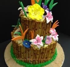 Tropical Theme Birthday Cake - tropical bamboo u2013 millers bakery