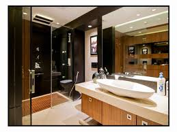 modern master bathroom designed by hameeda sharma architect in