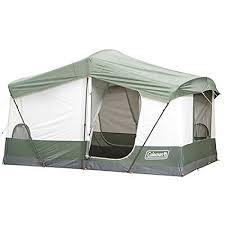 cabin tent coleman weathermaster six to seven person cabin tent