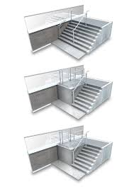 Retractable Stairs Design Sesame Retractable Stairs To Platform Lift
