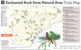 Texas State Park Map by Whit U0027s Wilderness The 3 Best Hiking Trails Of Enchanted Rock