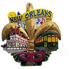 new orleans gift baskets new orleans fleur de lis christmas ornament