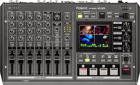 amazon com roland vr 3ex all in one a v mixer with usb port for
