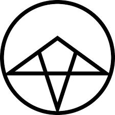 xxraiden inverted pentagram tattoo