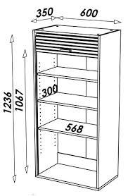 meuble cuisine 60 cm de large rangement de cuisine aluminium avec rideau déroulant largeur 60cm