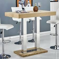Oak Breakfast Bar Table Oak Bar Tables U2013 Hism Co
