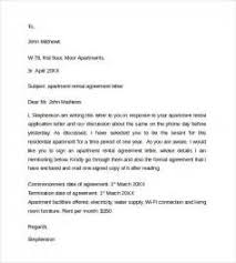 contract letter for rent cover letter template veterinarian