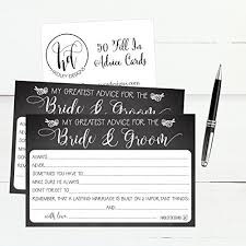 wishing and groom the best 50 4x6 rustic chalk wedding advice well wishes for the and
