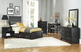 Black Bedroom Furniture Furniture Platinum Series Black Bedroom Collection