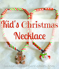 kid u0027s christmas necklaces christmas necklace troops and allergies
