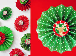 how to make folded paper rosettes hgtv