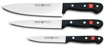 amazon com wusthof gourmet 3 piece kitchen knife set kitchen