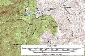 Yosemite Topo Map States Elevation Map Us Topo United States Topographic Map Stock