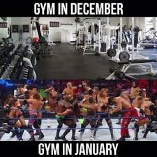 New Years Gym Meme - new year s resolutions turn gyms into arenas gym gym memes and