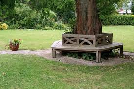 17 wonderful benches around the tree for memorable moments the