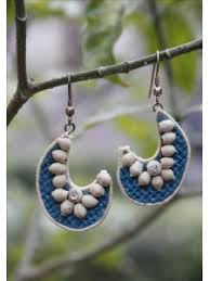 jute earrings jute earrings online shopping 526947