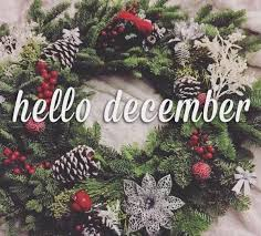 hello december wreath quote pictures photos and images