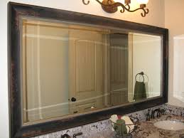 How To Frame A Large Bathroom Mirror by Frame Existing Bathroom Mirror Best Bathroom 2017